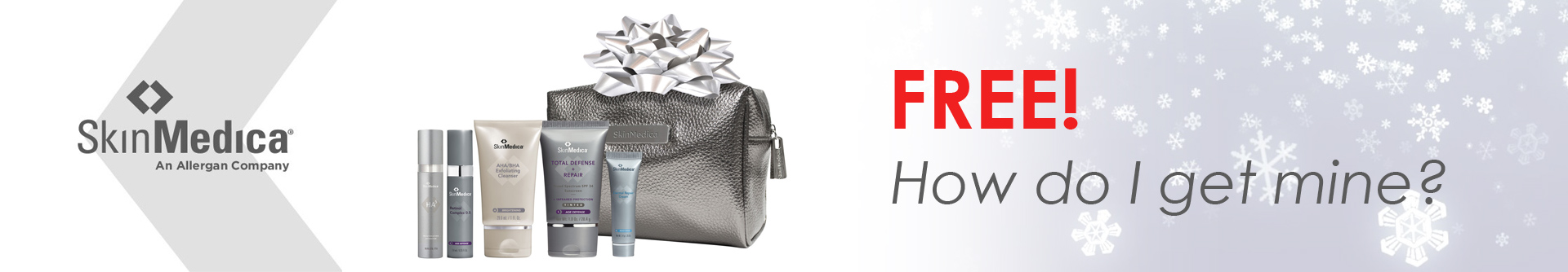 Free cosmetics bag full of your favorite SkinMedica products!